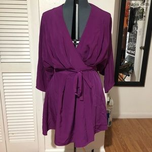 Asos kimono style dress